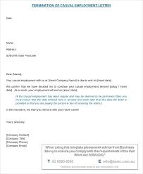termination letter template termination letter employee casual template newfangled photoshots