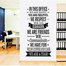 casefan we are a team english letter quotes wall sticker vinyl removable for livingroom