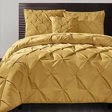4 piece mustard yellow comforter queen