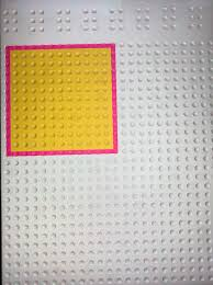 feelif shape game displaying a yellow square with a red outline