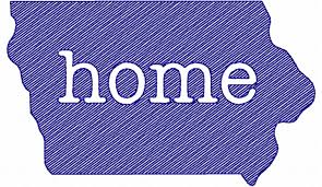 Sketch Style Iowa Home Machine Embroidery Design - Home machine embroidery designs