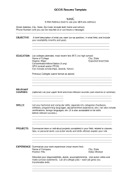 Blank Resume Template Pdf Free Artikelonlinexyz