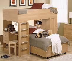 Toddler bunk bed brown