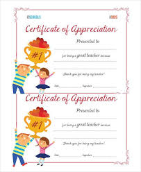 40 Certificate Of Appreciation Templates PDF DOC Free Classy Examples Of Certificates Of Appreciation Wording