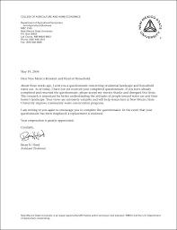 Sample Questionnaire Cover Letters Survey Cover Letter Template Chanceinc Co