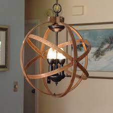 ORB CHANDELIER LIGHT  Atomic Light Fixture Industrial Lighting - Dining room hanging light fixtures