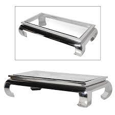chrome coffee table. Terano Large Rectangular Mirrored Chrome \u0026 Glass Coffee Table