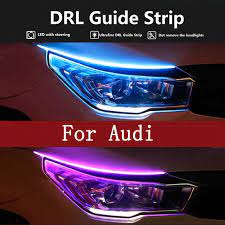 Tuần Tự DRL Dây Đèn LED LED Tín Hiệu 12V Dành Cho Xe Audi A1 A2