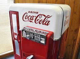 Vintage Coca Cola Vending Machine Interesting Coca Cola Vending Machine Vendo 48 Home Leisure Direct