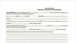 Sample Real Estate Bill Of Sale Forms 7 Free Documents In Word Pdf