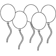 Balloon Coloring Page Free Coloring Library Printable Hot Air
