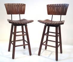 cool bar stools wood  ciov