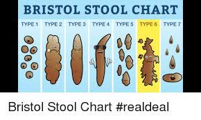 Bristol Stool Chart Type 1 Type 2 Type 3 Type 4 Type 5 Type
