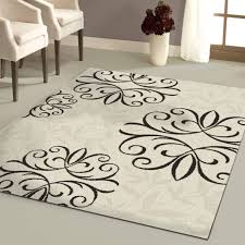 exceptional top 44 divine large rugs area 11x14 8x10 rug black and cream throughout appealing