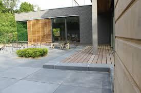 Terrasse Dalle Beton Et Bois