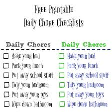 free printable charts and checklists. Honestly, I Think To-do Lists And Chore Help Everyone. Instead Of Spinning Your Wheels Looking Around Wondering What To Do With The Mess Free Printable Charts Checklists E