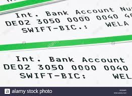 - Statement Photo A Swift Alamy Code And Iban 76335499 Stock Bank On