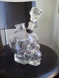jewels pipe skull glass glass bong
