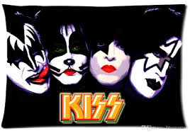 custom kiss rock band pattern zippered cotton polyester pillow case 20x30 twin sides pillow covers pillowcase sizes from littemantwo 20 11 dhgate