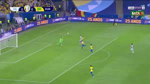 أهداف مباراة البرازيل والأرجنتين 0-1 هدف الارجنتين الاول - YouTube