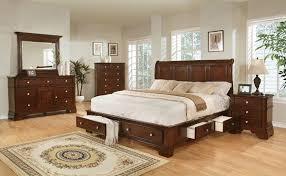 Dark Cherry Storage King Bedroom Set By Lifestyle Furniture My