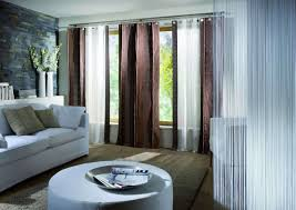 Window Treatment For Large Living Room Window Living Room Cool Modern Window Treartments Decor Ideas With