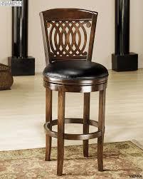 hilale vienna swivel wood bar stool