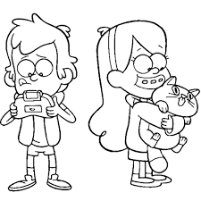 Gravity Falls Coloring Pages To Download And Print For Free
