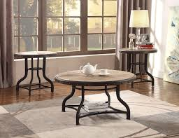 crown mark 3172set 3pc woodgrained with nailhead hardware coffee end table set 3pc woodgrained