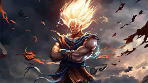 2560x1024 Goku New Dragon Ball Z Art ...