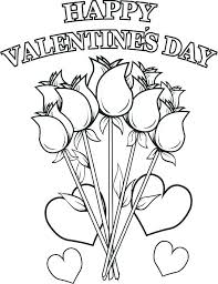 Valentine Day Coloring Sheets Coloring Pics Detail Valentines Day