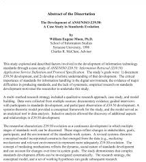 Apa Style Dissertation Sample Format 6th Edition Example Thesis