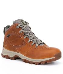 timberland men s mt maddsen premium leather waterproof mid hiking boots dillard s