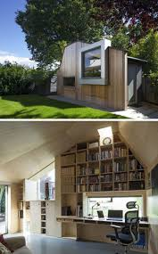 home office garden building. This Modern Backyard Home Office For A Writer Was Built To Replace An Old Garden Shed. Building