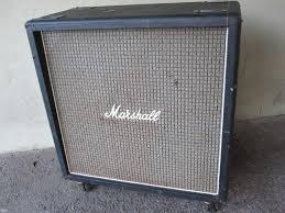 1973 MARSHALL 4x12 CAB G12H30 PLEXI 1960B VINTAGE 120W CABINET ...