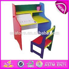 best kids school desk and chair children wooden toy student writing desk chair set