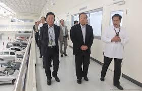 toyota jp chairman visits toyota ph
