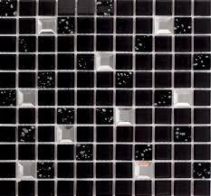 black mosaic tiles10044 2
