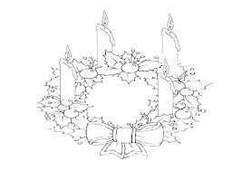 Advent Wreath Coloring Pages Printable Advent Wreath Coloring Pages