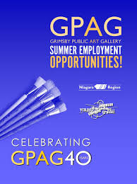 grimsby public art gallery summer employment opportunities at gpag summer employment opportunities at gpag