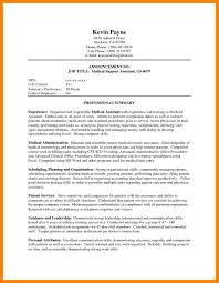 Resume Professional Summary 100 professional summary for resume no work experience apgar 33