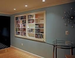 modern dvd wall storage