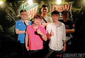 team dot are the champions of mountain dew s dota 2 challenge