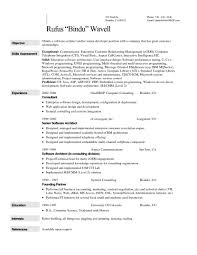 Resume Objective Examples For Teenagers Sample Jenifer Sevte