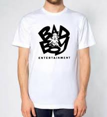 Bad Boy T Shirt Size Chart Details About Bad Boy Entertainment Logo New White T Shirt Tee All Size 100 Cotton