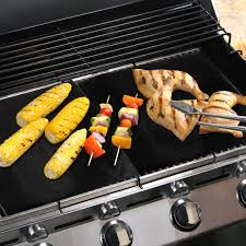 BBQ Grill Mat Easy Grilling Bake Nonstick Mats Cook Summer Non