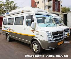 hire tempo traveller in jaipur at rs 16