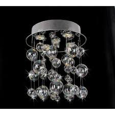furniture bubble light chandelier winsome chrome ceiling mount with hand blownes large diy ball fixture