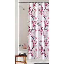 cherry blossom shower curtain cherry blossom shower curtain red barn