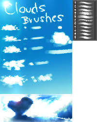Cloud Photoshop Brushes Clouds Brushes By Ryky On Deviantart